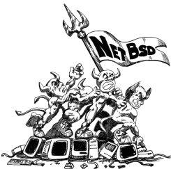 ์์์NetBSD old logo
